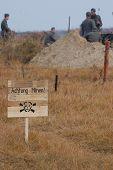 foto of landmines  - Land mine  - JPG