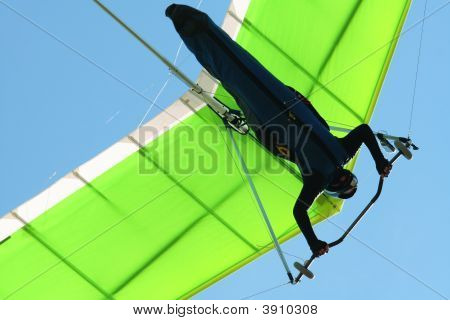 Hangglider In Blue