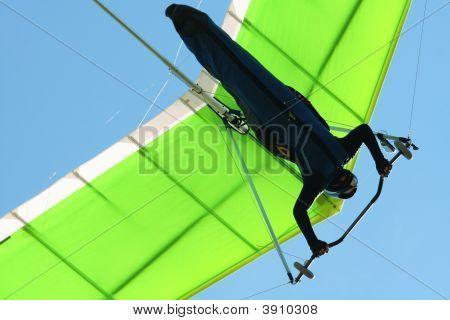 Hangglider In Blue