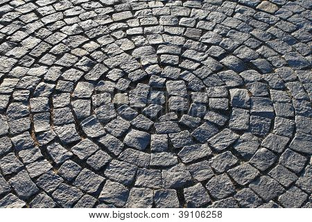 Pavement In The Form Of A Circle