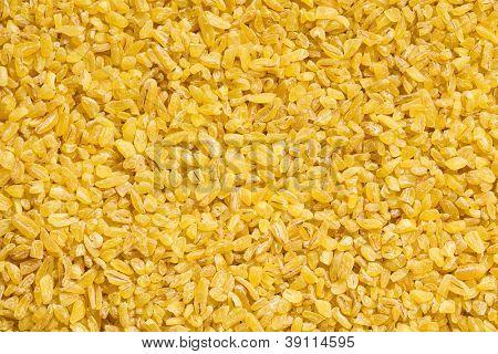 bulgur wheat pattern. cereal food
