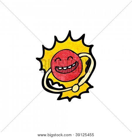 happy atom cartoon