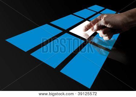 Finger Touching Digital Touch Screen