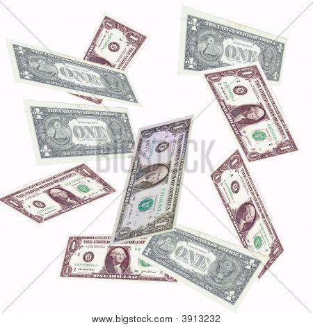 Caída del dólar