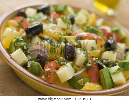 Bowl Of Valencian Salad