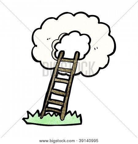 cartoon stairway to heaven