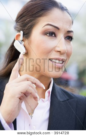 Portrait Of Middle Eastern Business Woman With