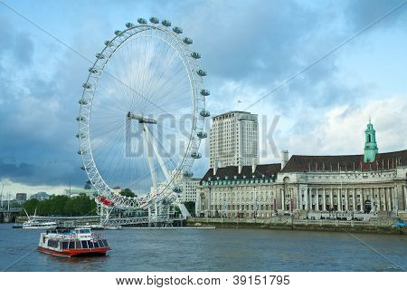 London Eye in London