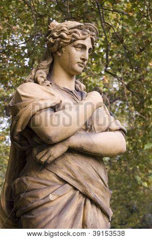 Euterpe Statue, London