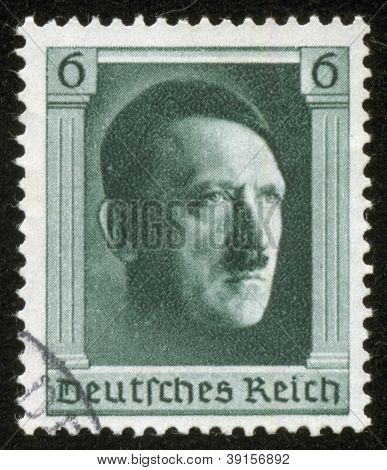 Stamp With Hitler