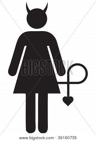 Icon Devil Woman
