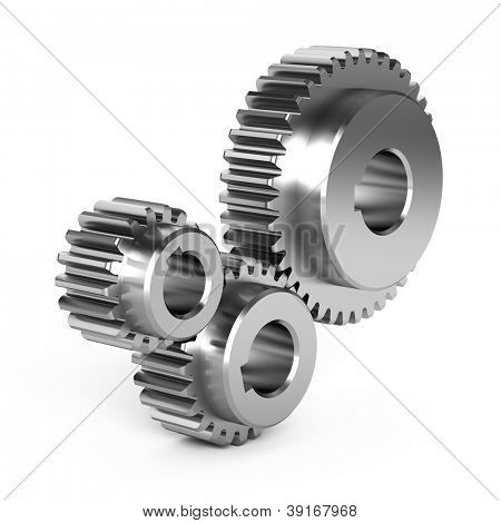 Steel gear wheels