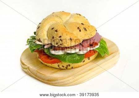 Beef Sandwich With Mushrooms