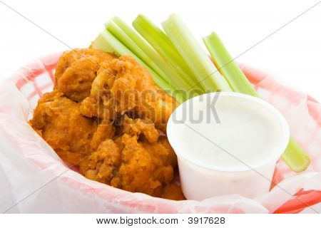 Buffalo Wings Closeup
