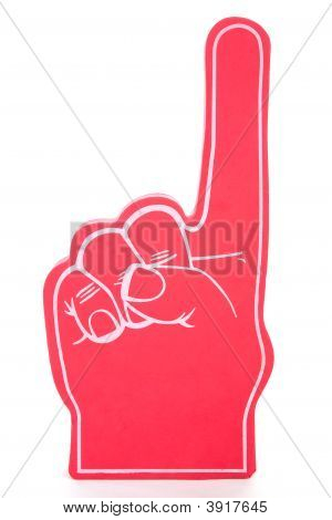 Foam Finger No 1