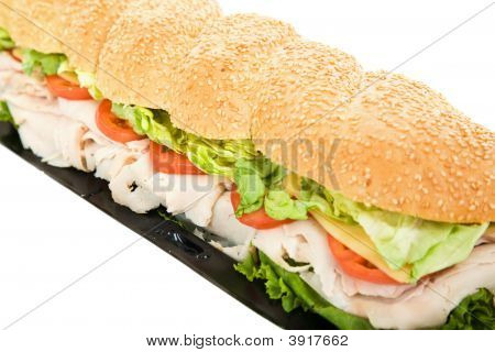 Giant Turkey Hoagie
