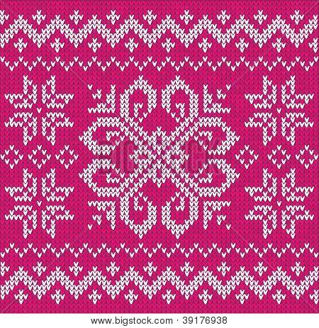 Christmas ornamental embroidery