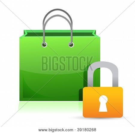 Shopping Card And Lock