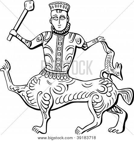 Vintage king centaur