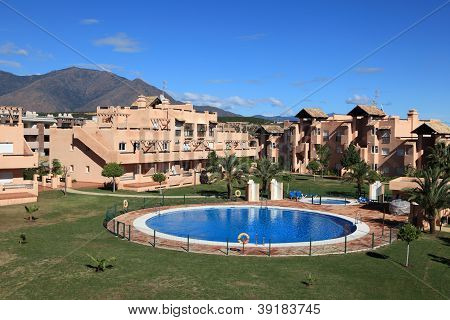Vacation Resort With Pool in Spain