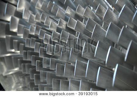 turbine blade texture background