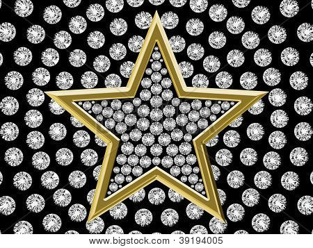 Star With Diamonds