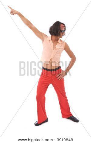 Retro Man Dancing