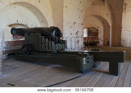 Fort Pulaski Columbiad