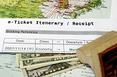 Airline Ticket Itinerary