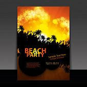 Flyer oder Cover-Design - Beachparty