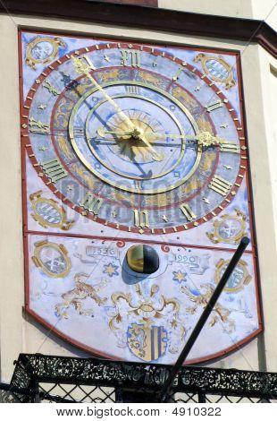 Clock. Liipzig.
