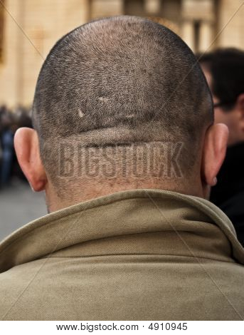 Big Shaved Head