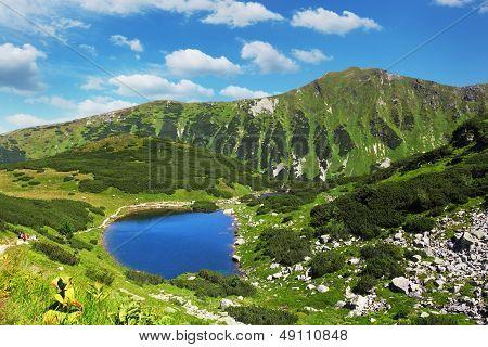Eslováquia Mountain Lake - Rohacske Plesa, Tatras ocidental