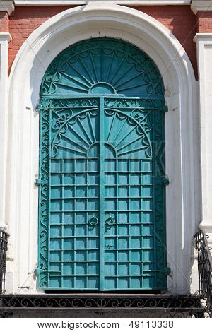 Green Door Of Exaltation Of The Cross Cathedral