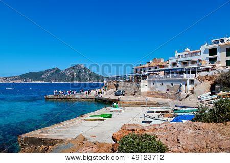 San Telmo Harbor And Dragonera Island, Majorca