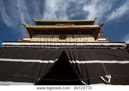 The Palkhor Monastery In Tibet Province In China