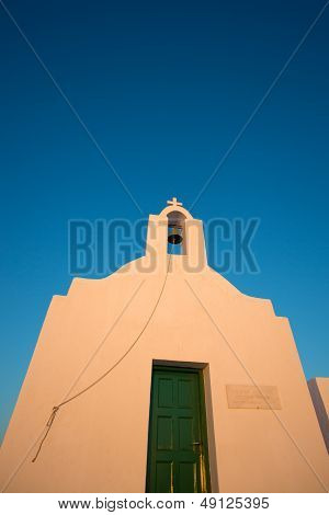 Little Orthodox Church In Folegandros