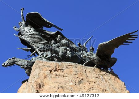 monument to san martin ,argentina