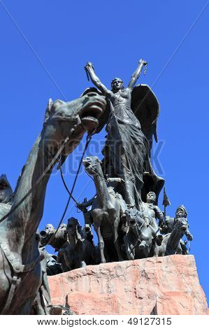 monument to san martin,argentina