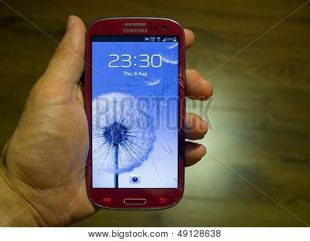 Defekt Samsung smartphone