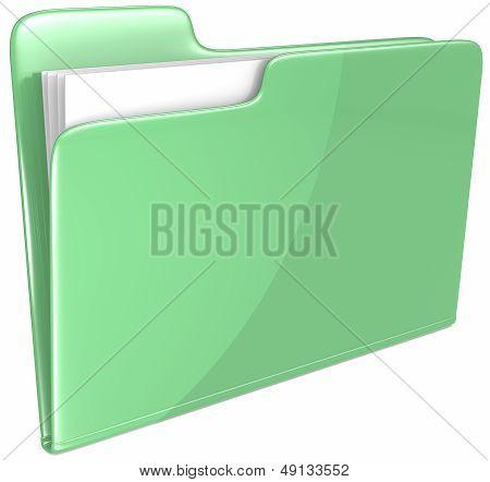 Green Folder.
