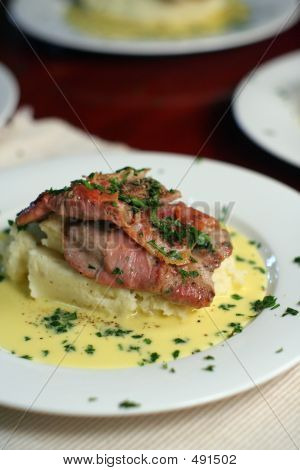 Veal Scallopine With Beure Blanc, Portrait