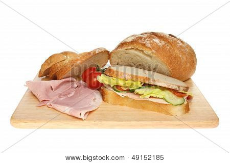 Sandwich And Loaf