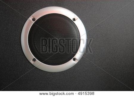 schwarze Lautsprecher