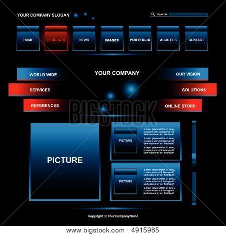 Design de página Web