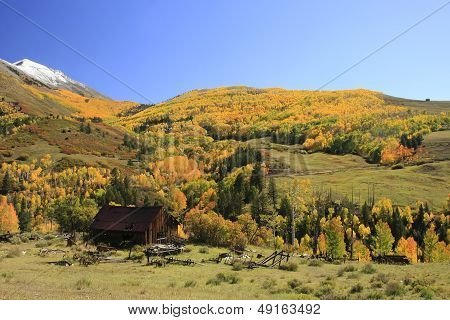 Old Barn Near Telluride, Colorado