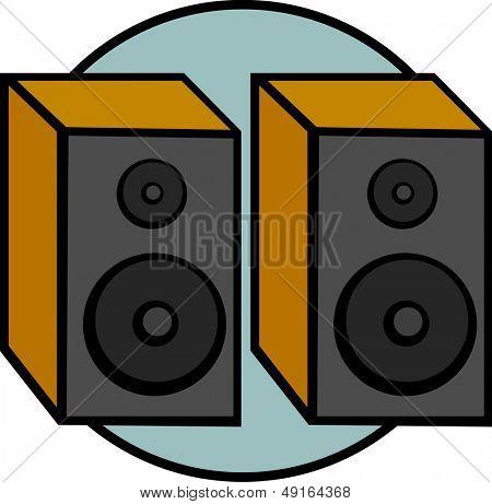 bookshelf speaker pair