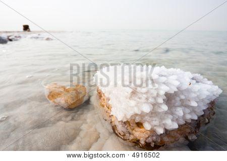 Salt In The Dead Sea