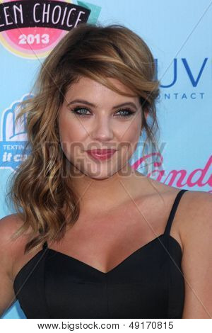 LOS ANGELES - AUG 11:  Ashley Benson at the 2013 Teen Choice Awards at the Gibson Ampitheater Universal on August 11, 2013 in Los Angeles, CA