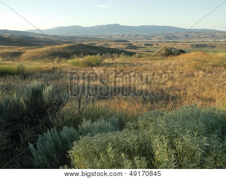 Mountains and Hills near Midvale, Idaho